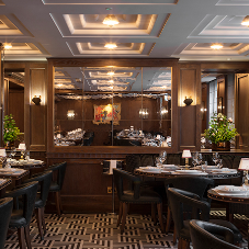 Bright Goods LED lamps illuminate Ormer Mayfair