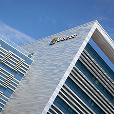 Aluminium façade for Microsoft Corporation