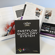 Crown launch Fastflow Quick Dry System guide