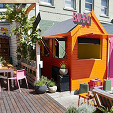 Wallbarn supports rooftop terrace at The Big Chill