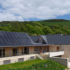 Glendyne natural slate houses The Etches Collection