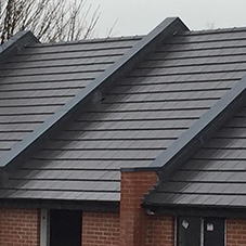 Powder coated roof cappings in East Midlands