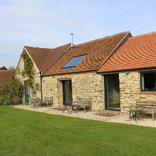 A bright solution for 17th Century Somerset barn restoration