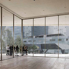 SentryGlas® interlayered glass for Museo Jumex