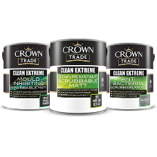 Clean & hygienic paint from Crown Trade