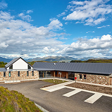 Sika Sarnafil for An Crùbh Community Centre