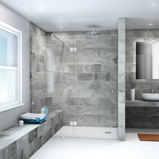 Bespoke showering solutions from CR Laurence