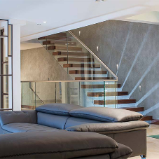 Cantilever staircases for multi-million pound home