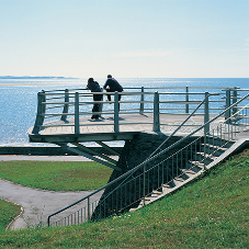 Bespoke viewing towers at Llanelli seafront