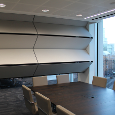 Moveable walls for Addleshaw Goddard offices