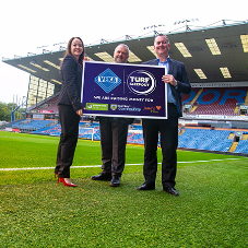 VEKA directors have a sleepout at Burnley FC's Turf Moor