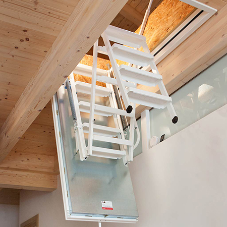 Isotec fire rated loft ladder specification now on NBS Plus