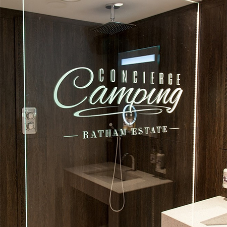 More luxury washroom facilities for Concierge Camping
