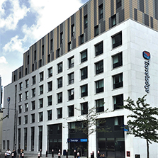 BRE135 Fire Approved Stone Cladding for London Hotel
