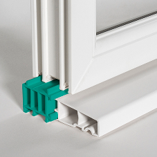 VEKA clip-on cills and large outerframes