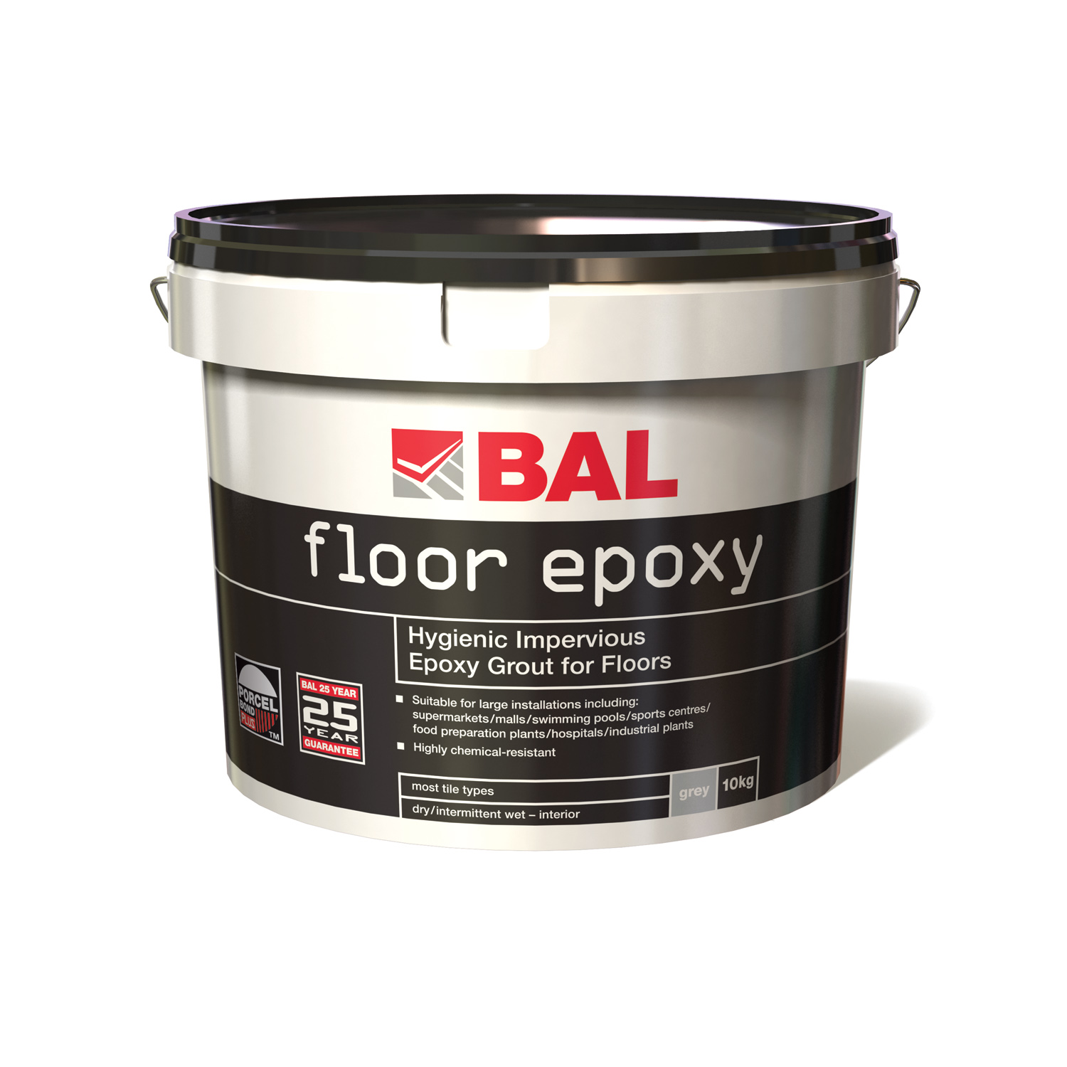 BAL launch a new improved epoxy grout