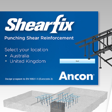 Ancon enhances Shearfix stud-rail calculation program