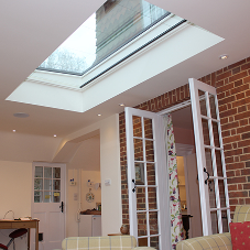Rooflights for East Sussex countryside family home