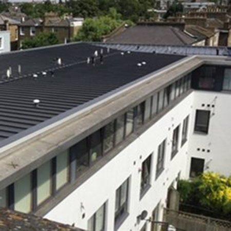 Waterproofing systems for St Pancras Way