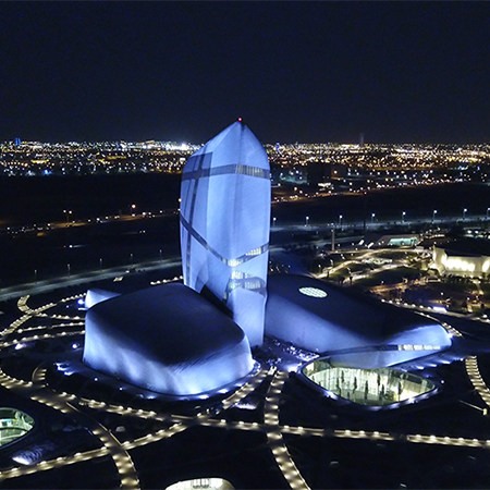 Pulsar light up new Cultural Centre in Saudi Arabia