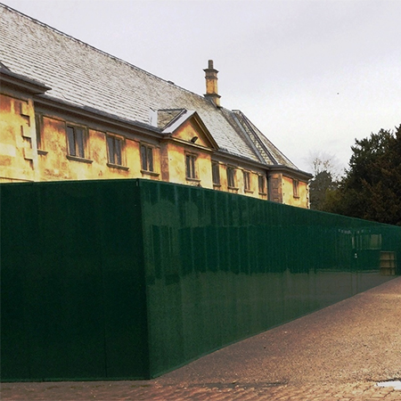 Kwik-Klik hoarding for £3.2m National Trust project