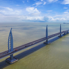 Expansion joints for world's longest sea crossing bridge