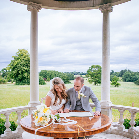 Chilstone transform Hotel Gardens into romantic wedding venue