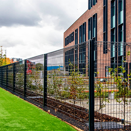 CLD Fencing for new £45m St Mary Magdalene school