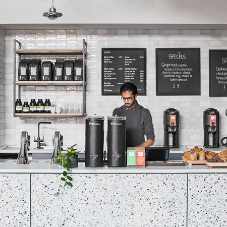 Diespeker delivers a stunning frontage for Origin Coffee