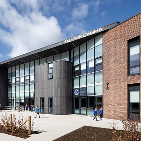 Armstrong Ceiling Solutions at new Balloch Campus