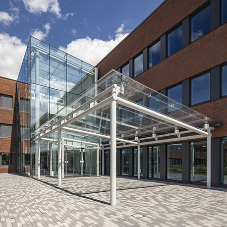 Pilkington delivers glass centrepiece in Aldi HQ makeover