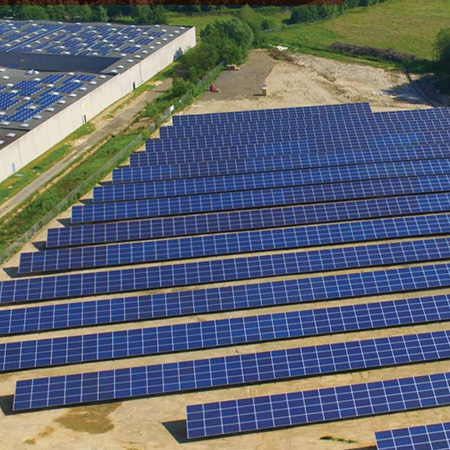 Almost 7000 solar panels installed at NMC site