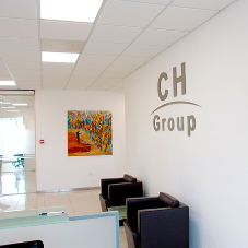 New branding and signage for CH Group's new office