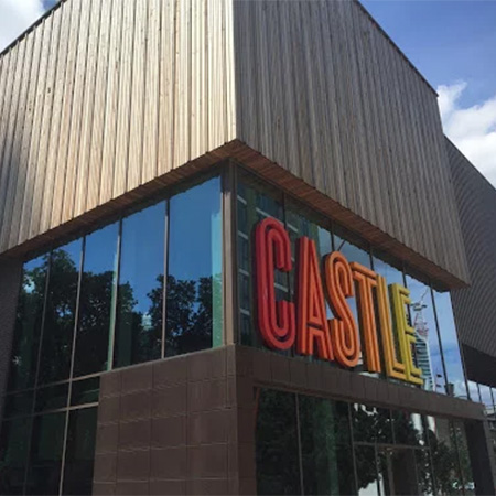 BASF watertight system at the Castle Leisure Centre in London