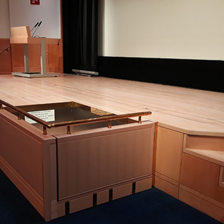 Sesame Stage Lift at the British Library