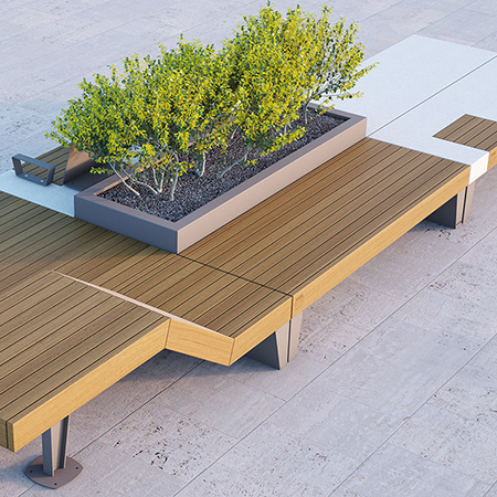 Artform Urban Furniture introduce Islolaurbana Seating and Planter Collection