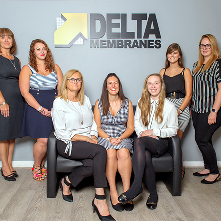 Delta win 'special achievement' ASUC award for Women of Waterproofing