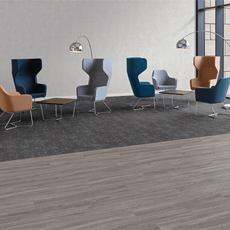 Workspace Solutions – the perfect pairing of Amtico Access and Carpet