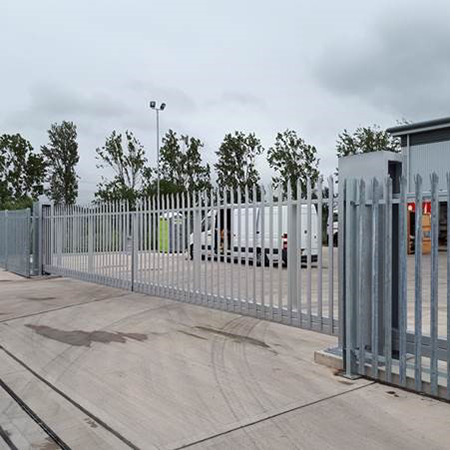 Parkit Systems Cantilever Gates for properties in Avonmouth