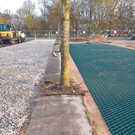 GroudGuard reinforcement system at Markeaton Park