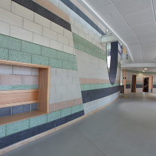 Why use Lignacite blocks in educational buildings