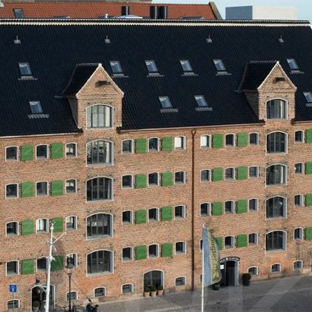 Clement Conservation Rooflights for luxury hotel in Copenhagen