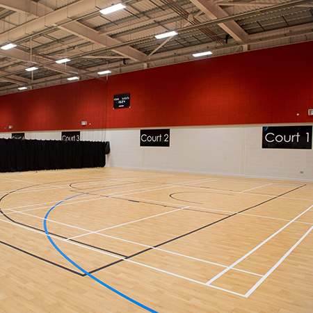 Polyflor Sport 67 Scores at New Brinnington Sports Centre