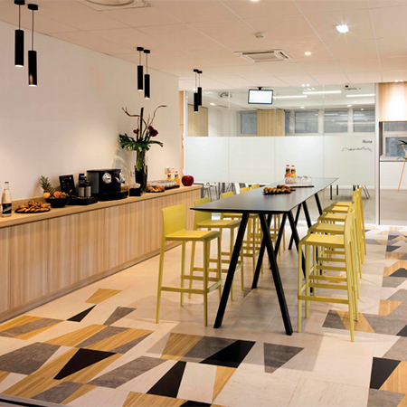 Sophisticated Signature vinyl tile for World Trade Centre
