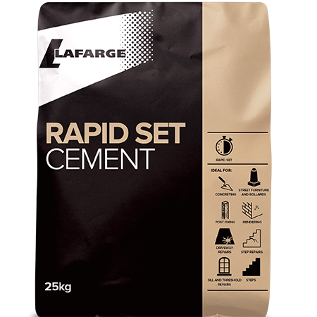 Lafarge Cement introduce new Rapid Set Cement