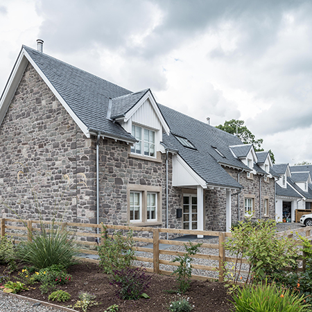 Sturdy roofing slate for beautiful rural Scottish homes