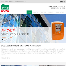 Dyer Environmental Controls launches new website