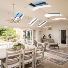 Clement Conservation Rooflights illuminate residence in Peterborough