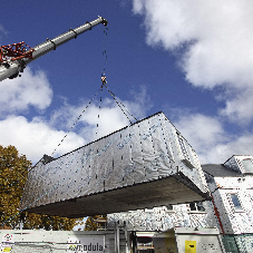 Protect Membranes used for pioneering offsite social housing scheme