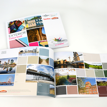 Crown Paints exterior colour book educates and inspires
